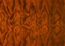 El zigzag cóncavo del alivio forma color de la terracota ilustración del vector