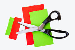 El zigzag Scissor Fotos de archivo libres de regalías