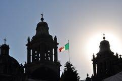 EL Zocalo, Cuidad de Μεξικό Στοκ Εικόνες