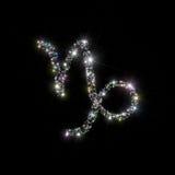 El zodiaco stars al Capricornio Imagen de archivo