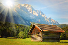 El Zugspitze Foto de archivo