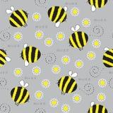 El zumbido de un abejorro Fotografía de archivo