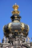 El Zwinger en Dresden, Sajonia imagen de archivo