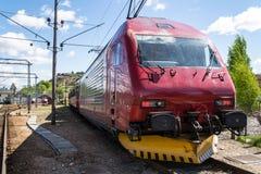 EL18 Locomotive. Locomotive at Halden Train station Royalty Free Stock Images