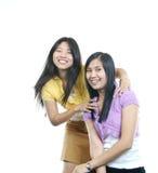 Ela e ela Foto de Stock