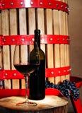 Elaboración de vino Foto de archivo