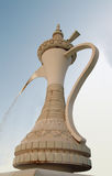 Elaborate Arabian fountain Royalty Free Stock Photography