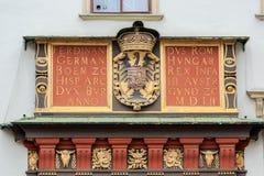 Elaborate archway. At Hofburg at Heldenplatz in Vienna Royalty Free Stock Photos