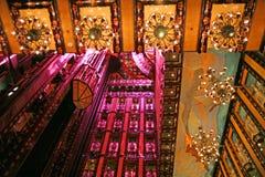Elaborate atrium Royalty Free Stock Photography