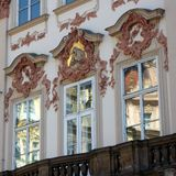 Elaborate Building Facade, Prague Stock Image