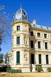 Elaborate building of Jerez riding school in spain. Elaborate and ornate architecture and building of Jerez horse riding school in Spain Stock Photo