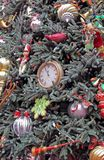 Elaborate Christmas Tree. An Elaborate Christmas Tree on display at a Holiday Festival stock photography
