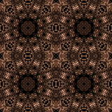 Elaborate filigree wallpaper. Abstract fractal image resembling elaborate filigree wallpaper Stock Image