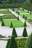 Elaborate formal garden Royalty Free Stock Photo