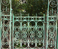 Elaborate gate. Royalty Free Stock Photography