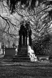 Elaborate grave stone. In Warriston Cemetery, Edinburgh, Scotland, UK Stock Images