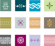 Elaborate patterns Stock Photos