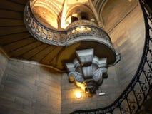 Elaborate spiral staircase Stock Photos