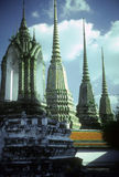 Elaborate temple spires Royalty Free Stock Photography