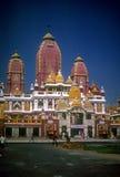 Elaborately carved Hindu temple Royalty Free Stock Image