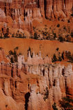 Elaborately eroded pinnacles and hoodoos Stock Photography