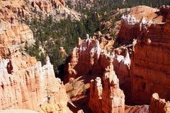 Elaborately eroded pinnacles and hoodoos Royalty Free Stock Images