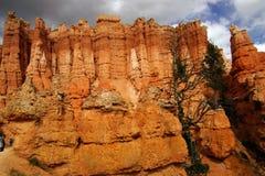 Elaborately eroded pinnacles and hoodoos Royalty Free Stock Photos