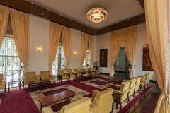 Elaborately meblujący pokoje używać dla stanu i dyplomatycznego functi zdjęcia stock