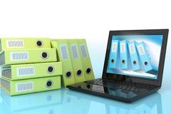 Elaborazione dei dati automatizzata Immagini Stock