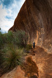 Elachbutting Rock, Western Australia. Little known, although smaller, but just as spectactular as the famous Wave Rock at Hyden Stock Photography