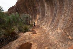 Elachbutting skała, zachodnia australia Zdjęcia Stock