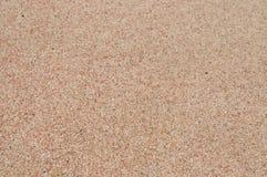Elafonisi海滩独特的桃红色沙子  免版税库存图片