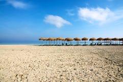 elafonisi Крита пляжа Стоковые Фотографии RF