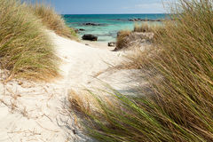Elafonisi beach (Crete, Greece) Stock Photo
