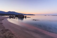 Elafonisi  beach. Crete, Greece. Elafonisi, one of the most famous beaches in the world, Crete, Greece Royalty Free Stock Photo