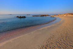 Elafonisi  beach. Crete, Greece Stock Images