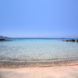 Elafonisi beach of Crete Royalty Free Stock Image