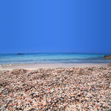 Elafonisi beach of Crete Stock Photo