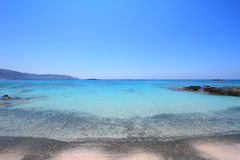 Elafonisi beach of Crete Stock Images