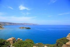 Elafonisi beach of Crete Stock Photo