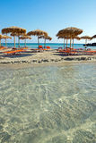 Elafonisi Beach, Greece Royalty Free Stock Photography