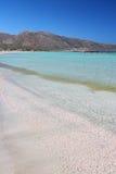Elafonisi, Kreta Stockfotos