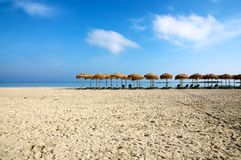 Elafonisi Strand, Kreta Lizenzfreie Stockfotos