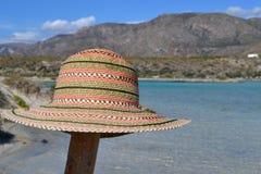 Elafonisi strand, Kreta, Grekland Royaltyfria Bilder