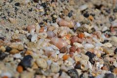 Elafonisi strand, Kreta, Grekland Arkivbilder