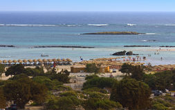 Elafonisos beach at Crete island Royalty Free Stock Photography