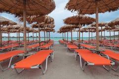 Elafonissi plaża, Crete, Grecja Zdjęcie Stock