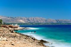 Elafonissos, Griekenland Royalty-vrije Stock Afbeeldingen