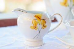 Elagant Milk Cup Stock Photo