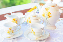 Elagant Tea Cup Royalty Free Stock Image